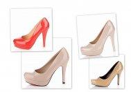 Buty na wysokim obcasie, szpilki z damskie