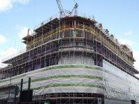 budowa  - rusztowania