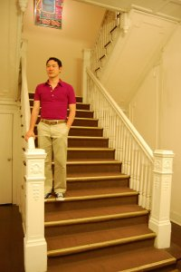 drewniaane schody