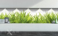 Naklejka ścienna z trawą