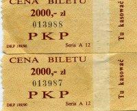 Bilety pkp