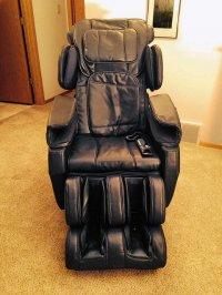 Fotel z funkcją masażu