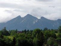 krajobraz górski, widok na góry